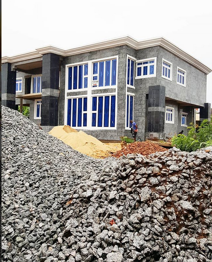 Nollywood Actor Zubby Michael Shows Off His Mansion