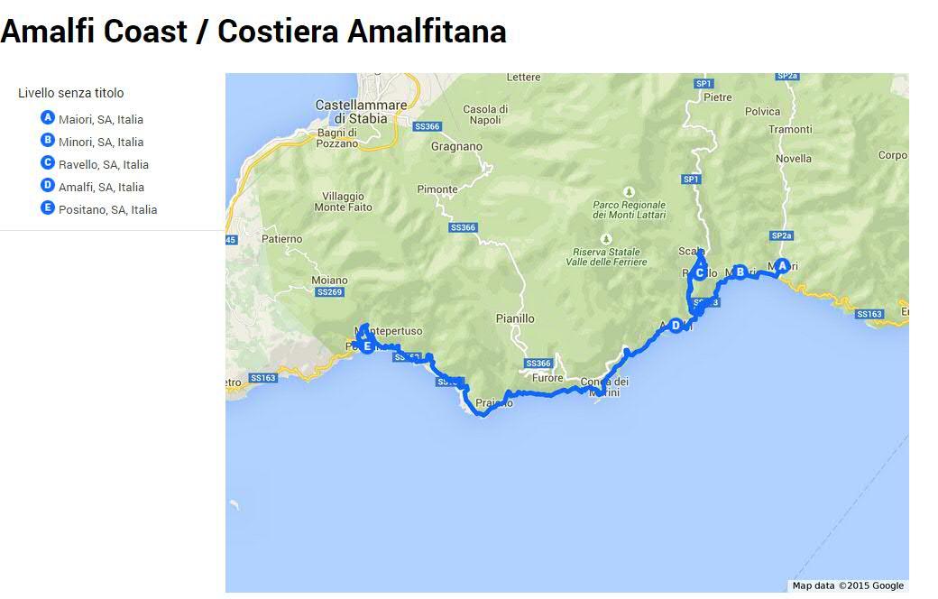 Amalfi Coast in a winter day - Viaggi e Delizie