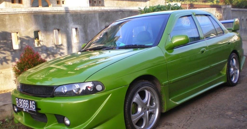 Kumpulan Modifikasi Mobil Sedan Timor Warna Biru Terbaru Modifikasi Mobil Sedan
