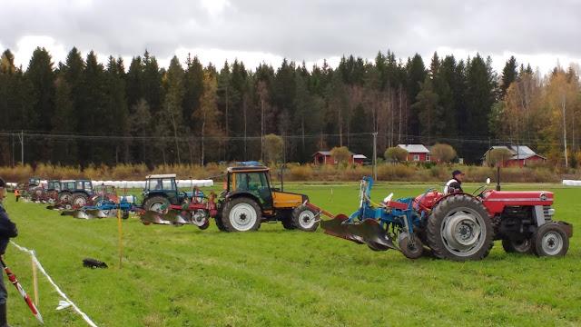 traktorikyntö