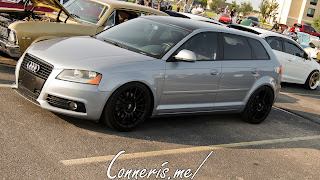 Audi S Line Wagon side