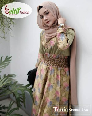 Gamis Batik Pesta Tania By Beltif Fashion