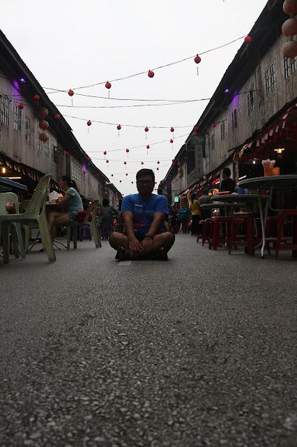 Siniawan Old Market. Salahsatu pusat jajanan di Sarawak