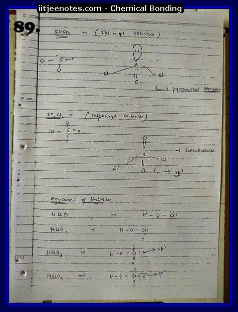 Chemical-Bonding Notes chemistry17