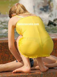 fotos chavas vestidos transparentes