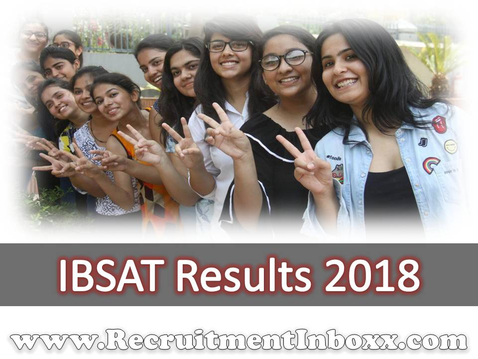 IBSAT Results