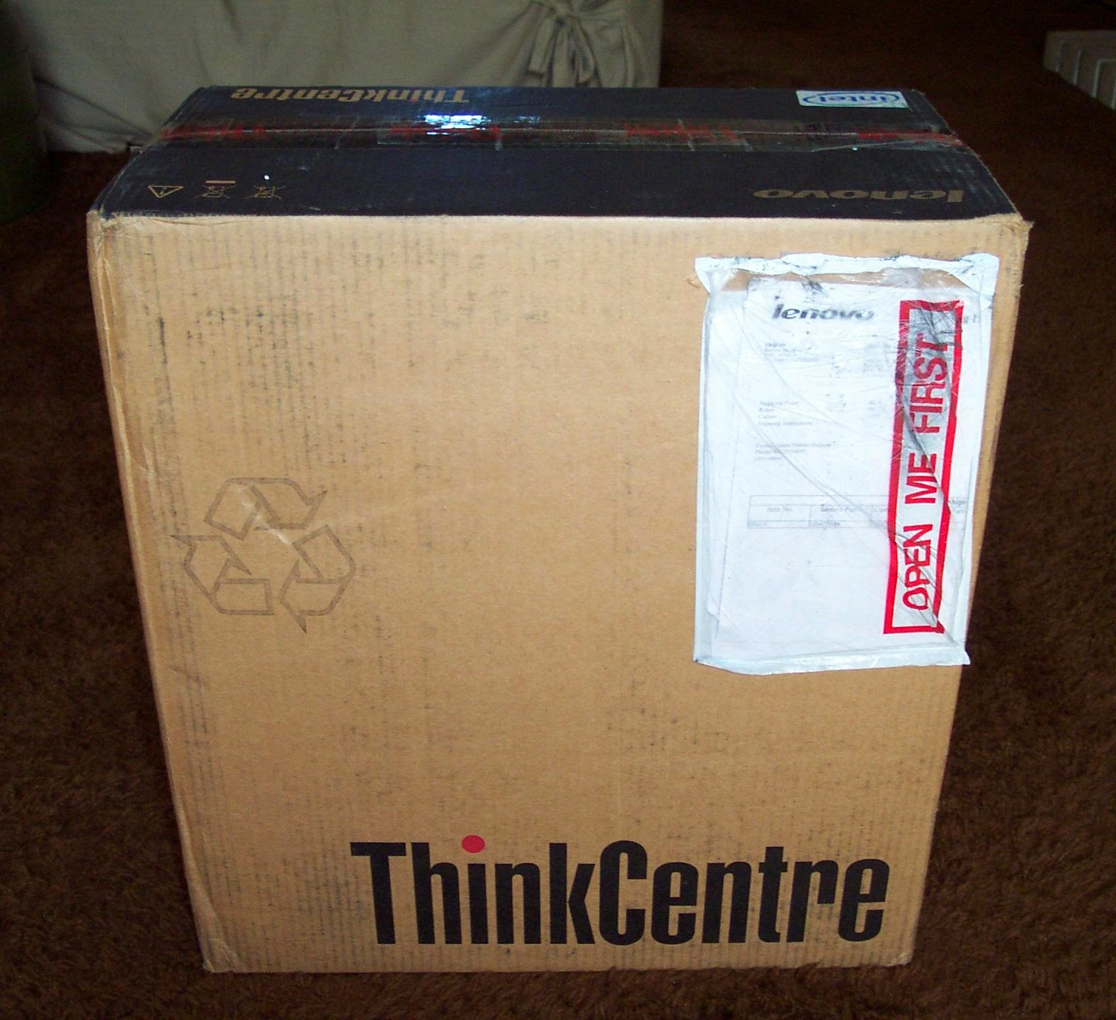 More Red Ink: Lenovo ThinkCentre M73 Mini Tower