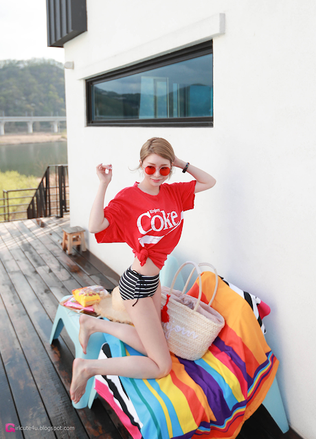 Shin So Jung - Bikini Set - very cute asian girl - girlcute4u.blogspot.com (2)