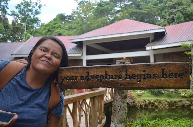 CHAP Bohol Adventure Curious Onion Bridge Entrance