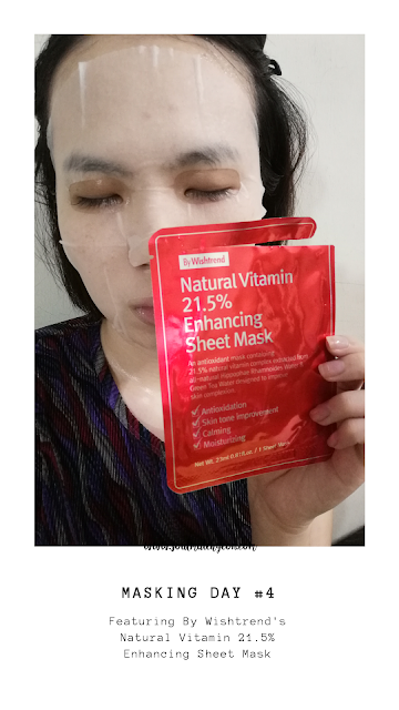[Monthly Project] #25 7-Day Sheet Mask Challenge (feat. By Wishtrend)