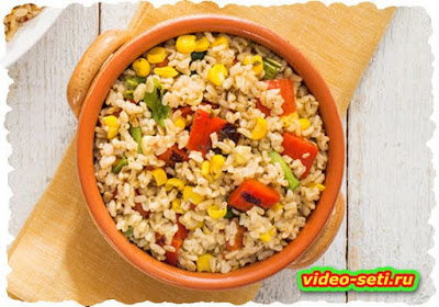 Tempered Rice sc Corn Salad