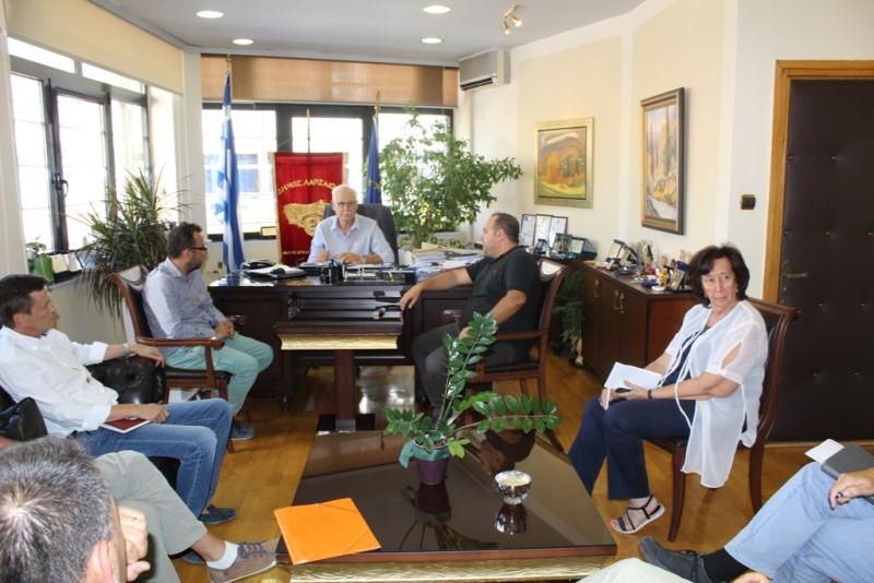 Στο Δήμαρχο Λαρισαίων η Διοίκηση του ΤΕΕ ΚΔ Θεσσαλίας (ΦΩΤΟ)