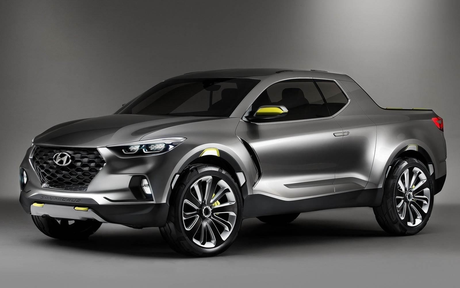 Hyundai Santa Cruz Conceito Que Antecipa Pick Up M 233 Dia