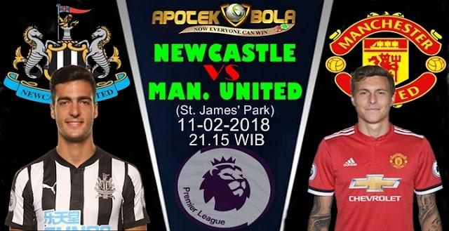 Prediksi Newcastle vs Manchester United 11 Februari 2018