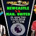 Agen Bola Terpercaya - Prediksi Newcastle vs Manchester United 11 Februari 2018