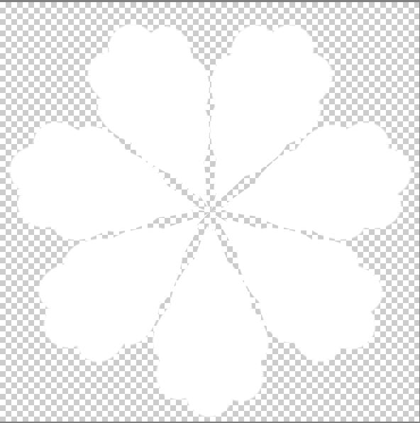 Tutorials: I want to make a flower in photoshop elements