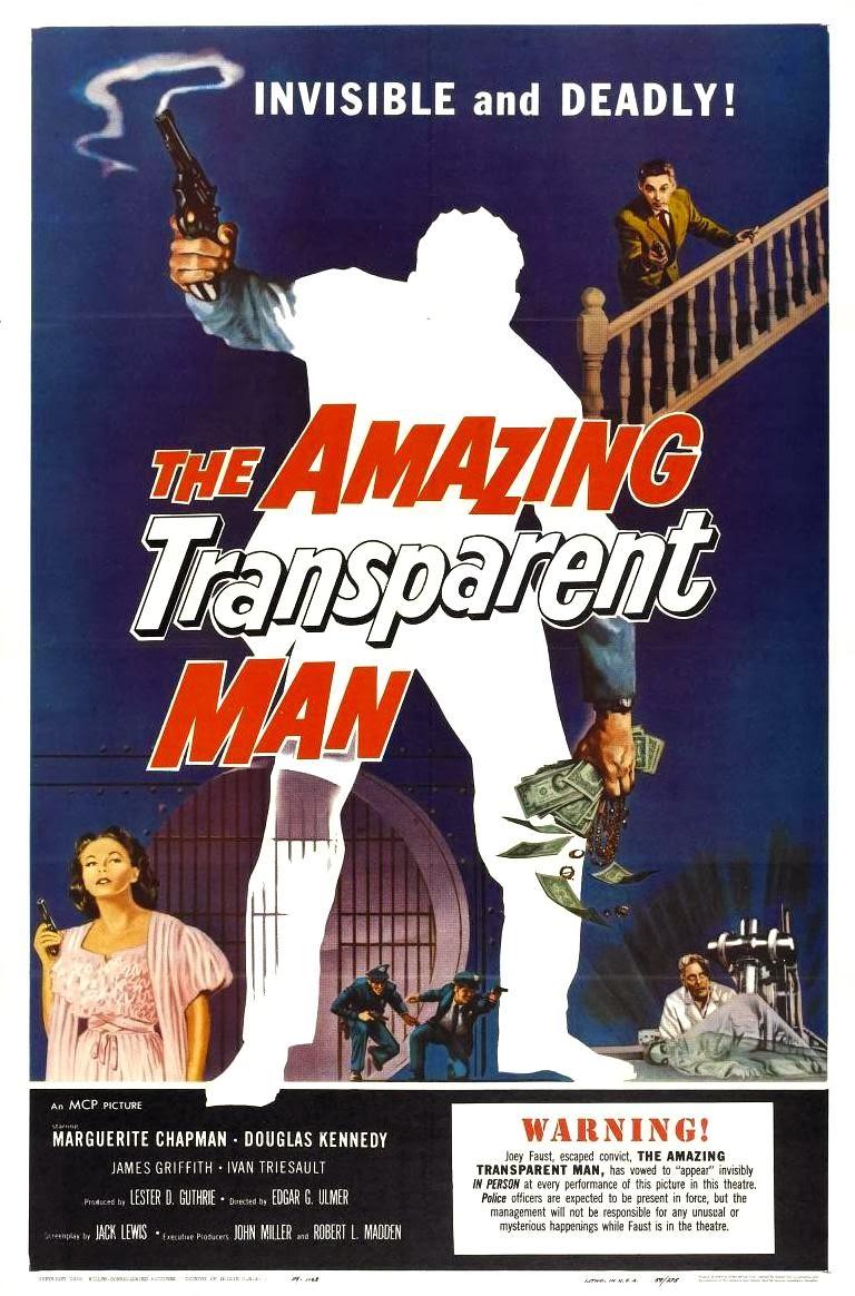Portada película El increíble hombre transparente