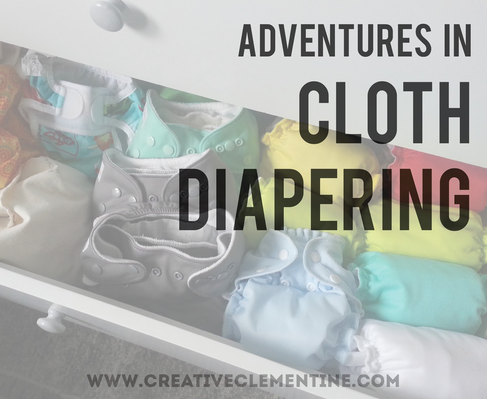 Adventures in cloth diapering: four solutions to the most common roadblocks to choosing cloth diapers.