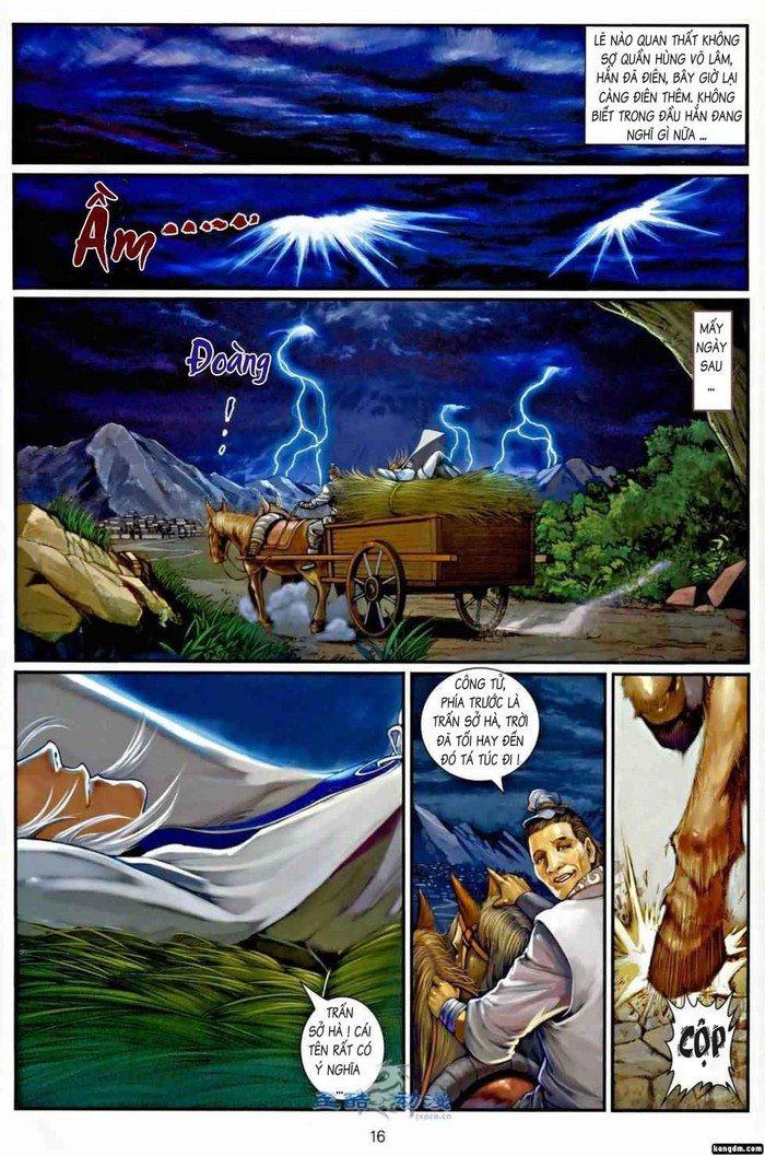 Ôn Thụy An Quần Hiệp Truyện chap 2 trang 14