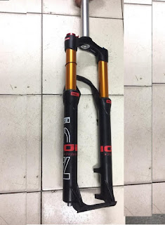 Fork 27.5 Ion 100 Lock . Kashima Coat . Stanchion 32 MM