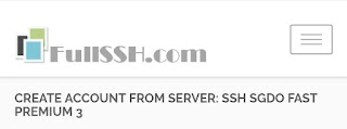 Akun SSH Injector Gratis Update Juli 2017