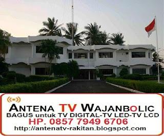 jual  ANTENA TV Bagus WAJANBOLIC PT POLYCHEM INDONESIA PULO AMPEL SERANG BANTEN