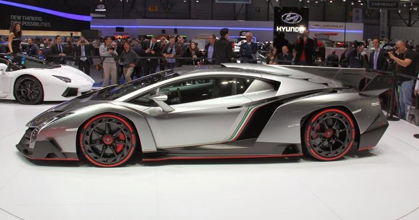 Gambar Mobil Termahal: Gambar Mobil Lamborghini Veneno Roadster Termahal Di Dunia
