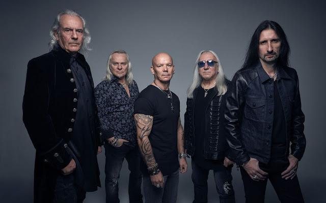 Uriah Heep sera à l'affiche de Guitare en Scène le 17 juillet.