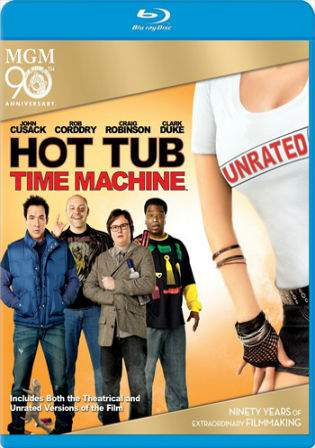 Hot Tub Time Machine 2010 BRRip 300MB Hindi UNRATED Dual Audio 480p Watch Online Full Movie Download bolly4u