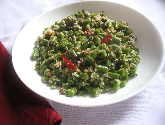 Green Bean Poriyal
