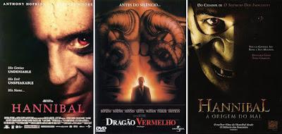 Hannibal, Dragão Vermelho, Hannibal: A Origem do Mal, Capas