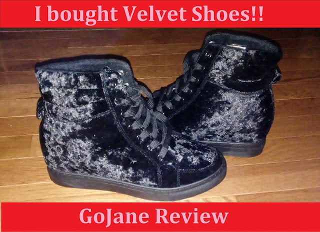 velvet shoes GoJane Review