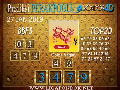 Prediksi Togel PERAK PONDOK4D 27 JANUARI 2019