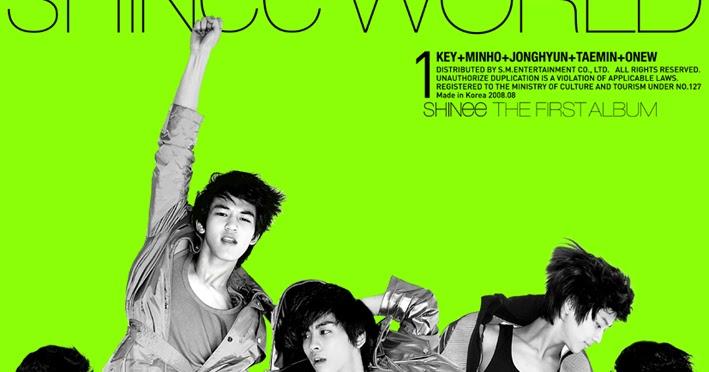 Shinee The Shinee World Album Cover | Pics | Download |