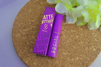 Social Cosmetics Matte Within Me Lipstick Review