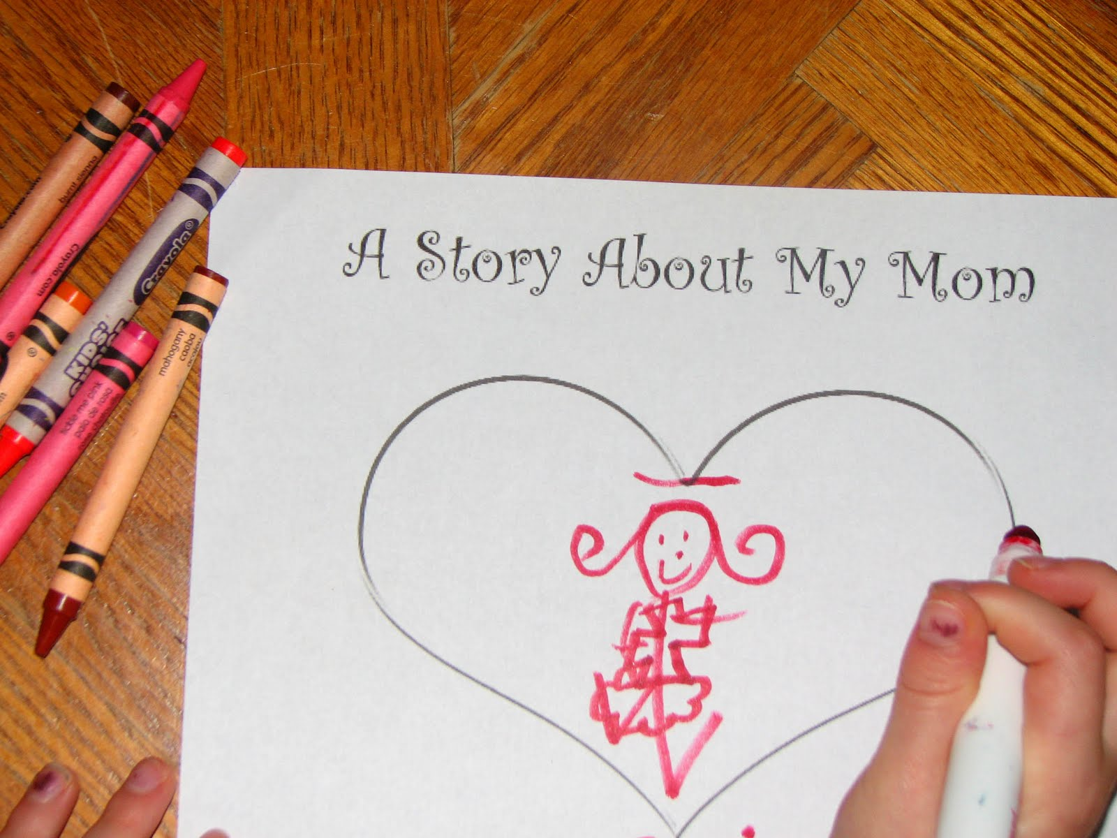 Be Blessed A Story About My Mom A Mother S Day Printable Keepsake For Mom