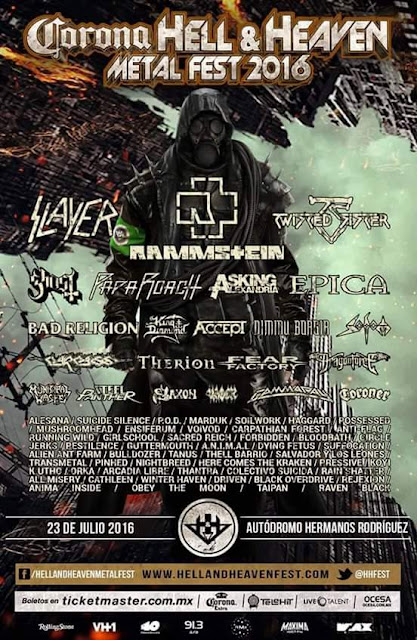 Hell and Heaven 2016 Metal Fest