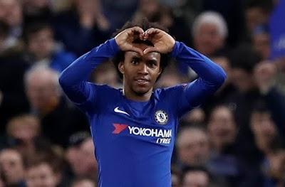 Willian Tampil Beri Amaran Bahawa Chelsea Akan Tampil Berbeza Ketika Menentang United Di Old Trafford...