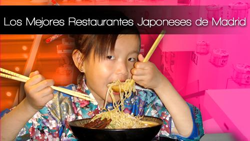 Restaurante Japones barato en Madrid