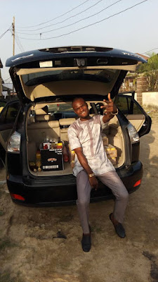 MMM Participant Potokri Forgive Shows Off Lexus Jeep He Bought From Participating In The Scheme (Photos)