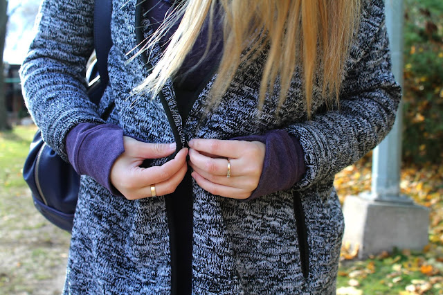lululemon cardi all day marl