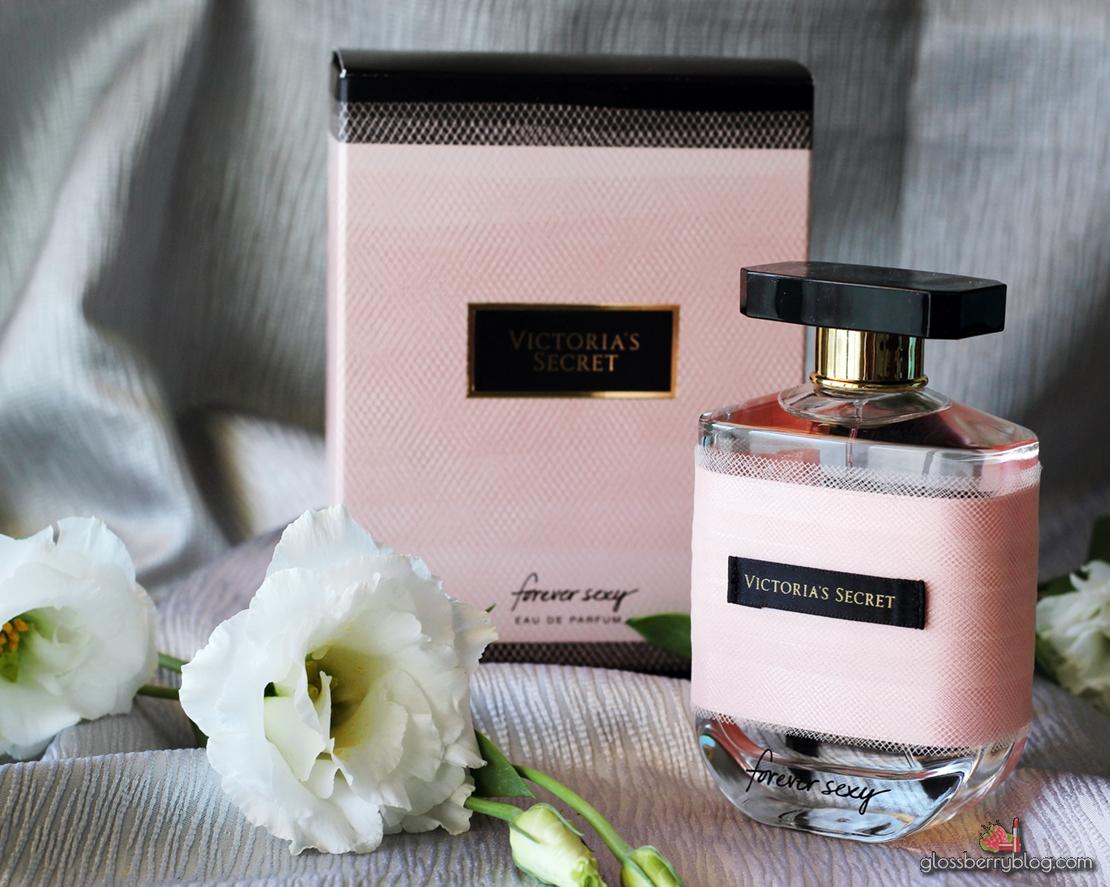 Victoria Secret - Forever Sexy perfume דיוטי פרי בושם פורבר סקסי ויקטוריה סיקרט גלוסברי בלוג איפור
