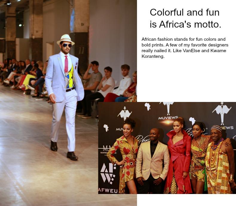 Africa Fashion Week Europe, Amsterdam, Van Else, Kwame Koranteng