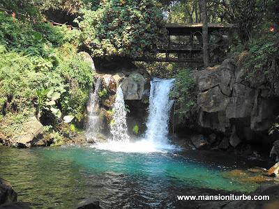 Parque Nacional Barranca del Cupatitzio en Uruapan, Michoacán