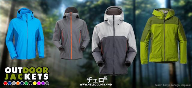 72 Koleksi Desain Jaket Gunung Cdr HD Terbaik