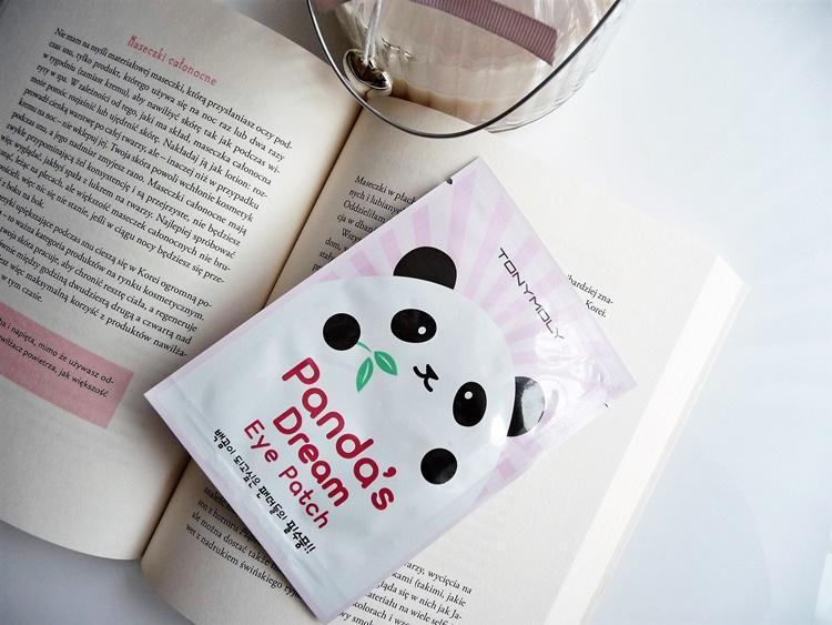 Rozświetlające płatki pod oczy, czyli Panda's Dream Eye Patch od Tony Moly