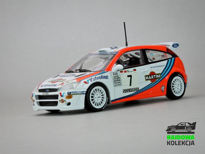 Minichamps Ford Focus WRC Winner Rally Portugal 1999