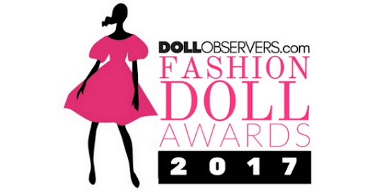 This blog is again nominated for a Doll Observers Fashion Doll Blog award!