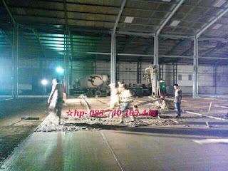 Jasa trowel beton floor hardener sika tegal pekalongan brebes