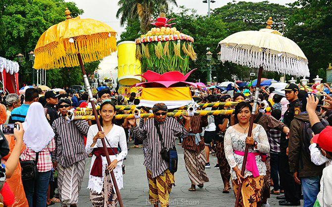Keramaian Festival Ogoh-ogoh di Malioboro